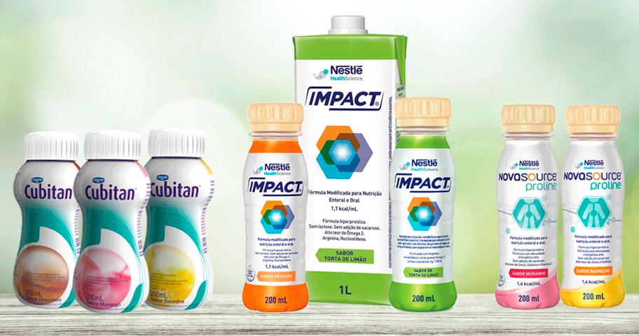 Qual a diferença entre o Impact, Novasource Proline e Cubitan?